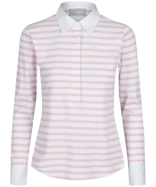 Women's Schöffel Salcombe Shirt - Harbour Stripe Pink