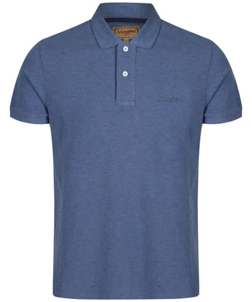 Men's Schöffel Padstow Polo Shirt - Denim