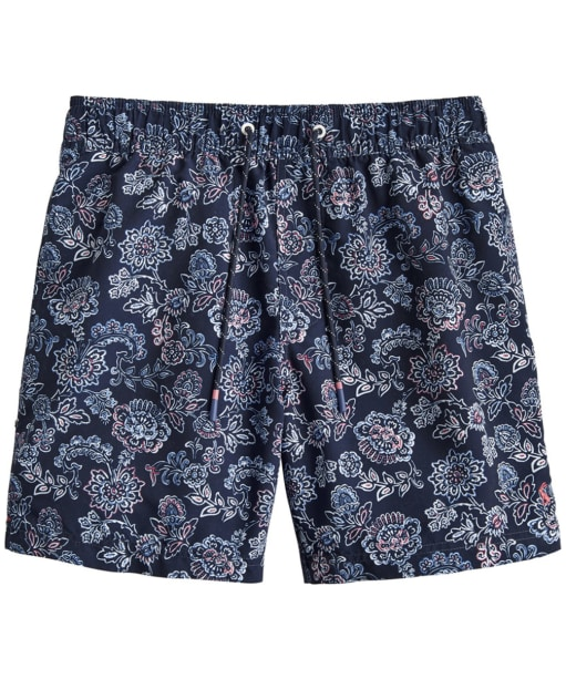 Men's Joules Heston Swim Shorts - Navy Indi Floral