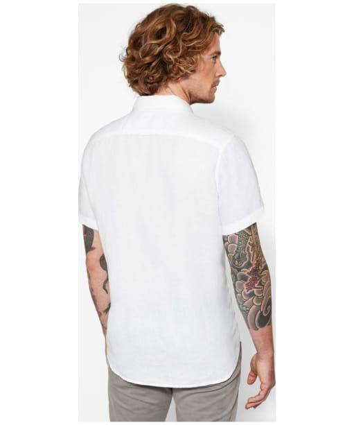 Men's Timberland Mill River Linen Shirt - Back