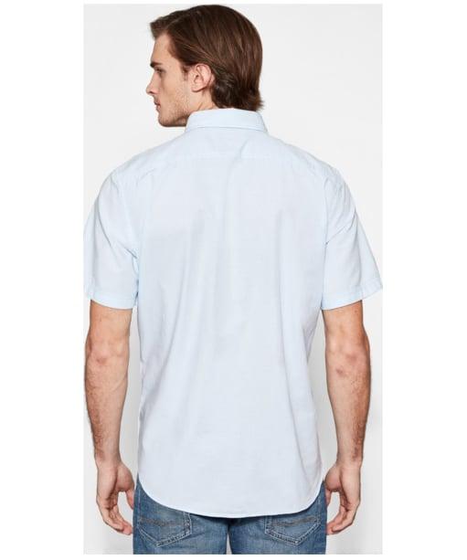 Men's Timberland Pleasant River Oxford Shirt - Back