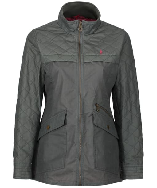 Women's Jack Murphy Cashel Wax Jacket - Contemporary Green Mix