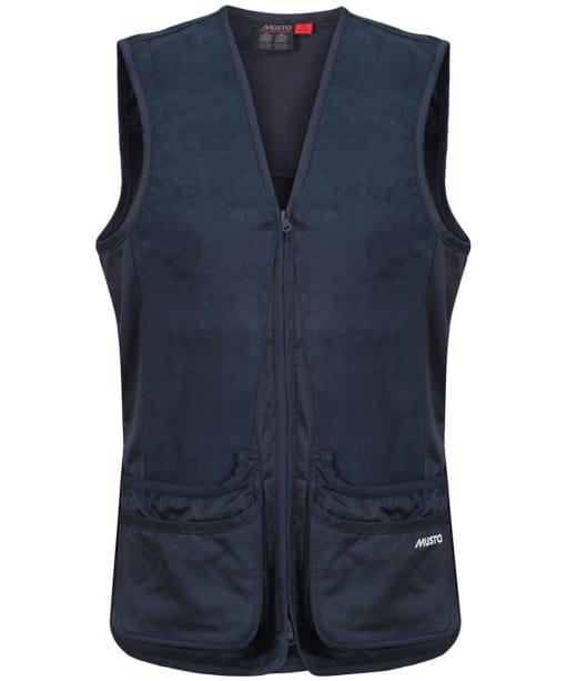 Men's Musto Clay Shooting Vest - True Navy