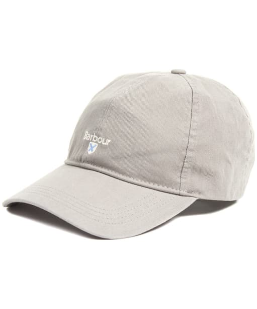 Men's Barbour Cascade Sports Cap - Battle Ship Grey