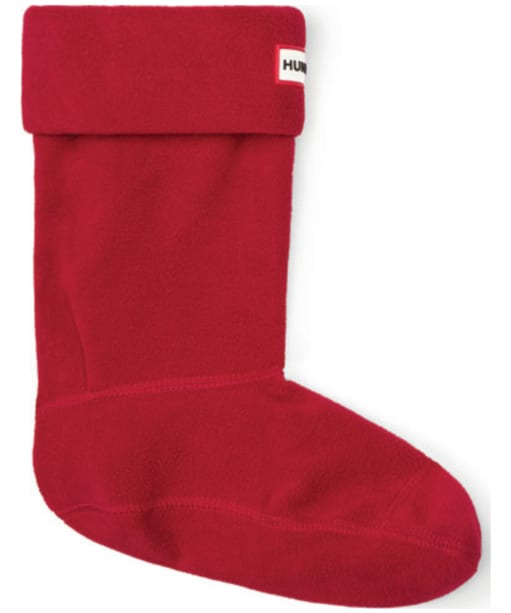 Hunter Short Boot Socks - Military Red