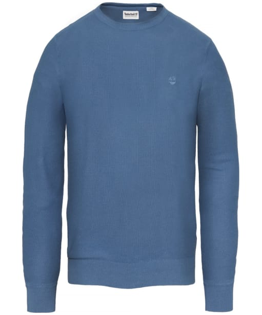 Men's Timberland Manhan River Crew Neck Sweater - Ensign Blue