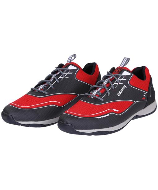 Men's Dubarry Racer Sailing Shoes - Red