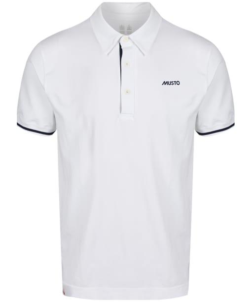 Men's Musto Performance Polo Shirt - White