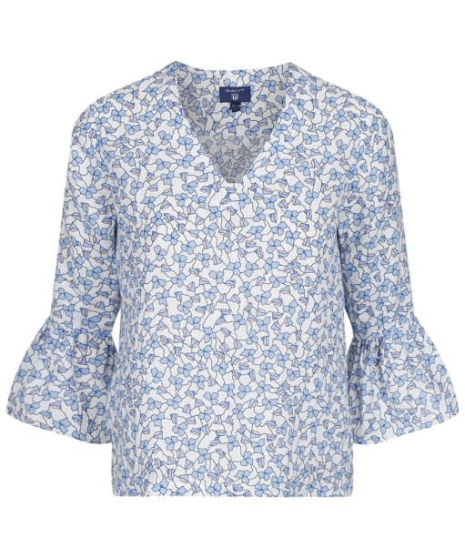 Women's GANT Linked Floral Top - White