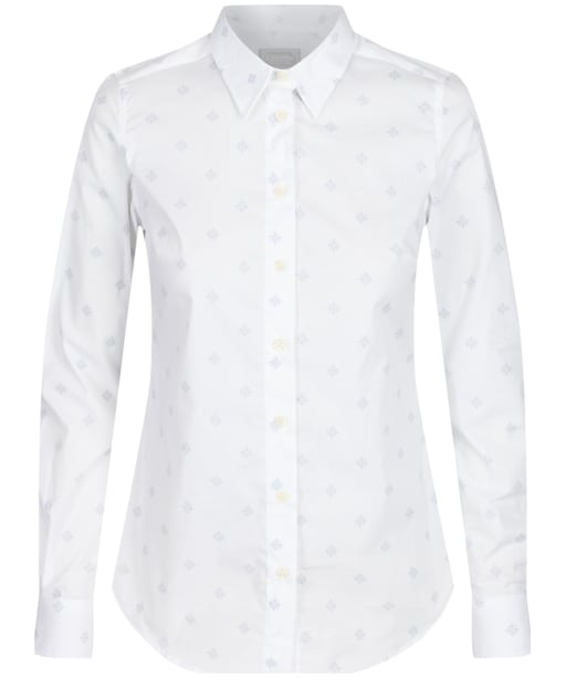 Women's Schoffel Norfolk Shirt - Amalfi Bluebell