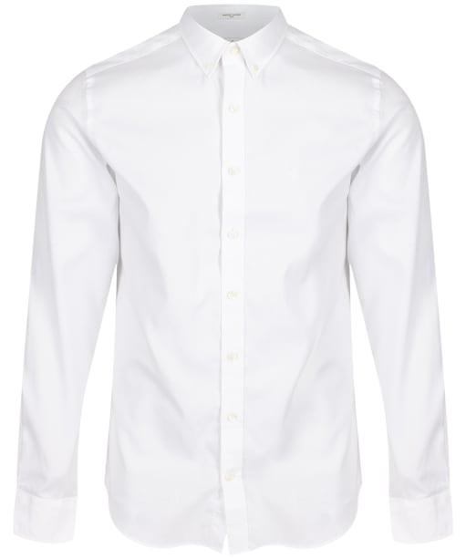 Men's GANT Slim Fit Pinpoint Oxford Shirt - White