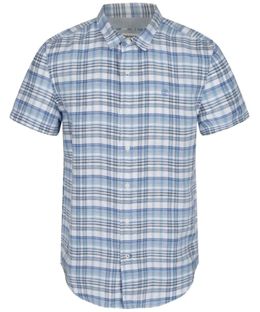 Men's Timberland Mill River Madras Shirt - Branding