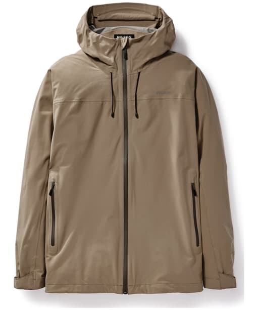 Men's Filson Swiftwater Rainshell Waterproof Jacket - Rugged Tan