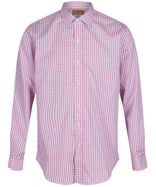 Men's Schoffel Harlington Shirt - Pink Gingham