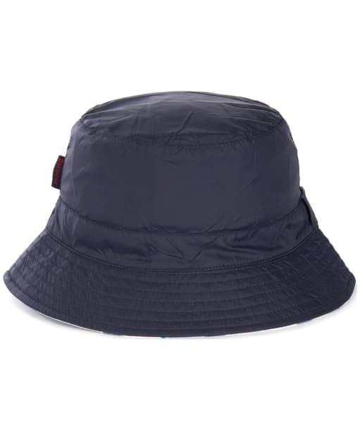 Women's Barbour Shield Waterproof Bucket Hat - Navy