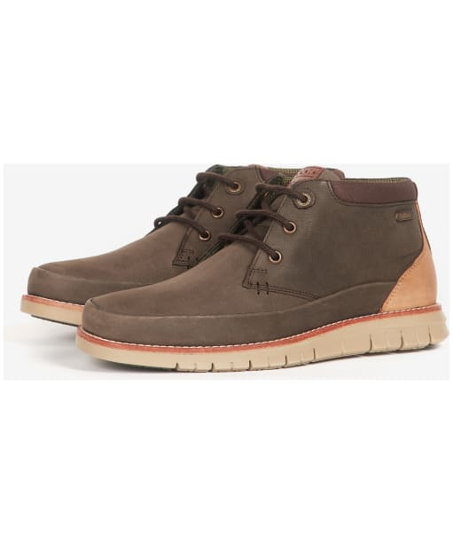 Men's Barbour Nelson Chukka Boots - Brown