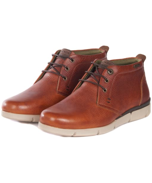 Men's Barbour Collier Chukka Boots - Cognac