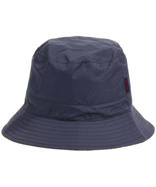 Men's Barbour Waterproof Reversible Hat - Navy