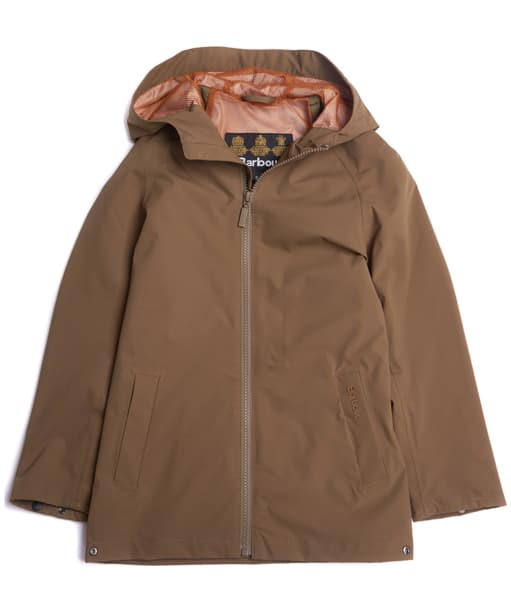 Boy's Barbour Irvine Waterproof Jacket, 2-9yrs - Clay