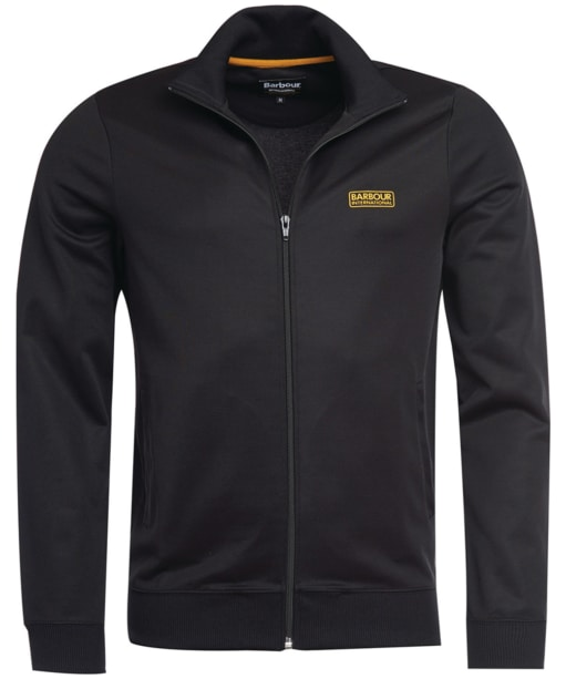 Men's Barbour International Essential Track Top - Black