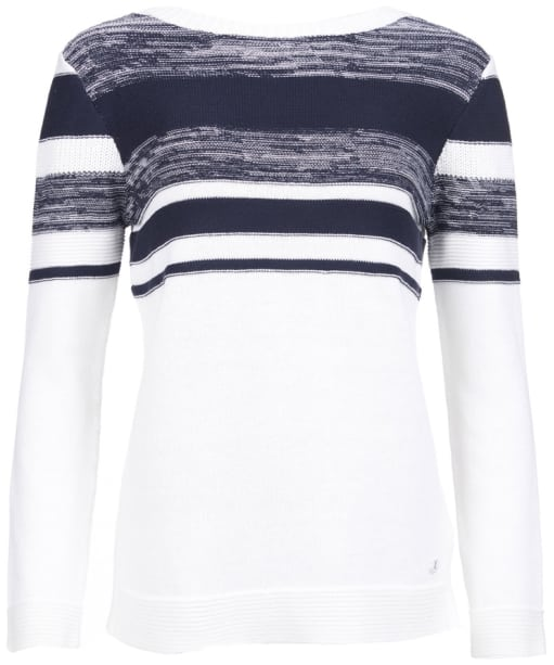 Women's Barbour Selsey Knit Sweater - Cloud