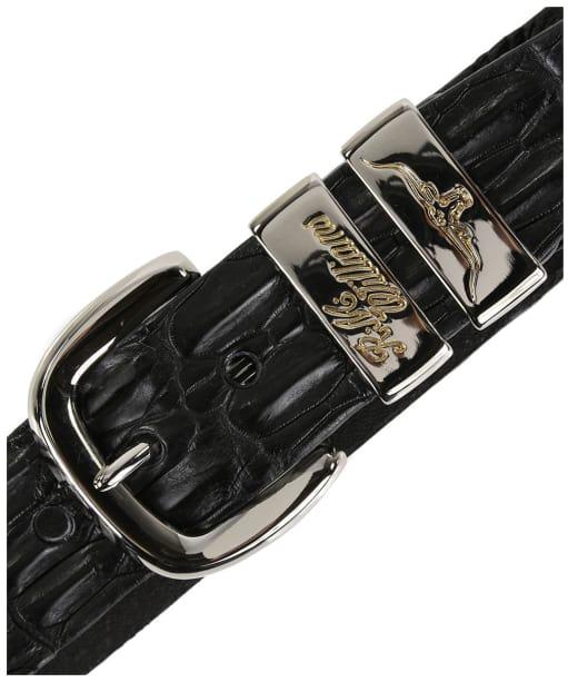 Men's R.M. Williams Crocodile Belt - Black