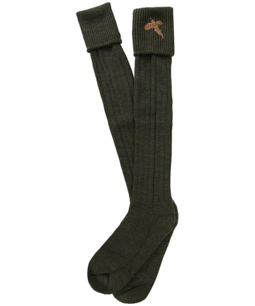 Men's Pennine Stalker Shooting Socks - Olive