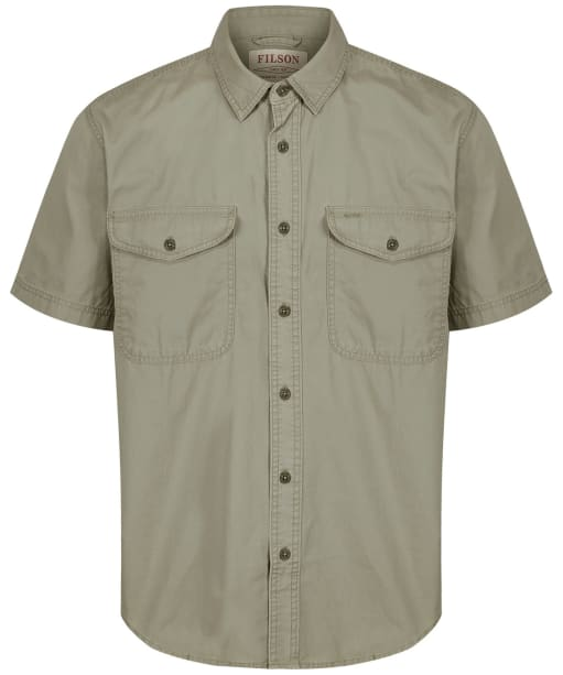 Men's Filson Short Sleeve Field Shirt - Field Green