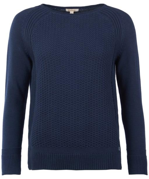Women's Barbour Bridport Knitted Sweater - Navy
