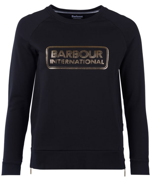 Women's Barbour International Mugello Sweatshirt - Black