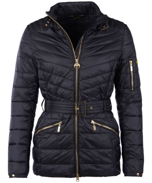 Women's Barbour International Hedemora Quilted Jacket - Black