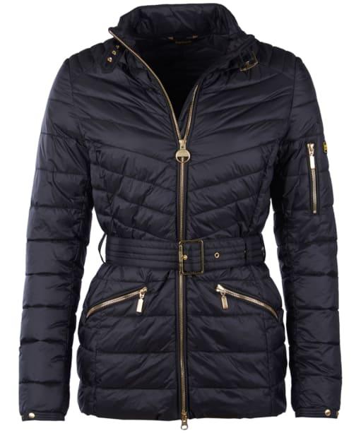 Women's Barbour International Hedemora Quilted Jacket - Black