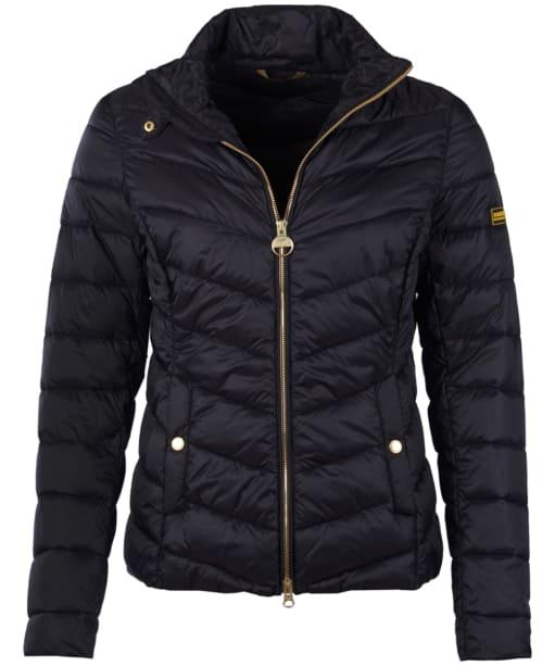Women's Barbour International Aubern Quilted Jacket - Black
