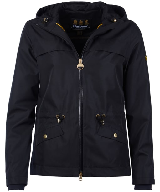 Women's Barbour International Misano Waterproof Breathable Jacket - Black