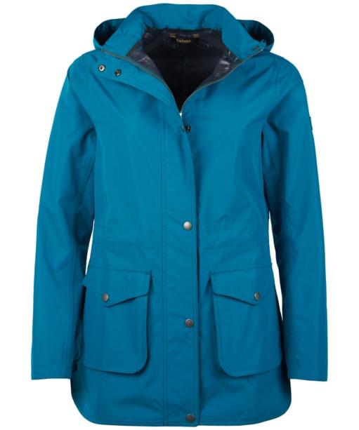 Women's Barbour Studland Waterproof Jacket - Sea Glass