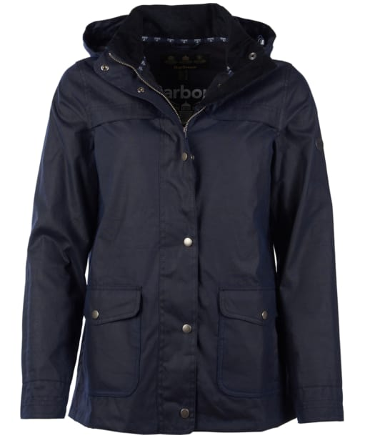 Women's Barbour Watergate Wax Jacket - Royal Navy