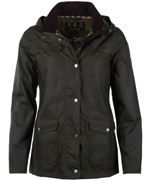 Women's Barbour Watergate Wax Jacket - Fern