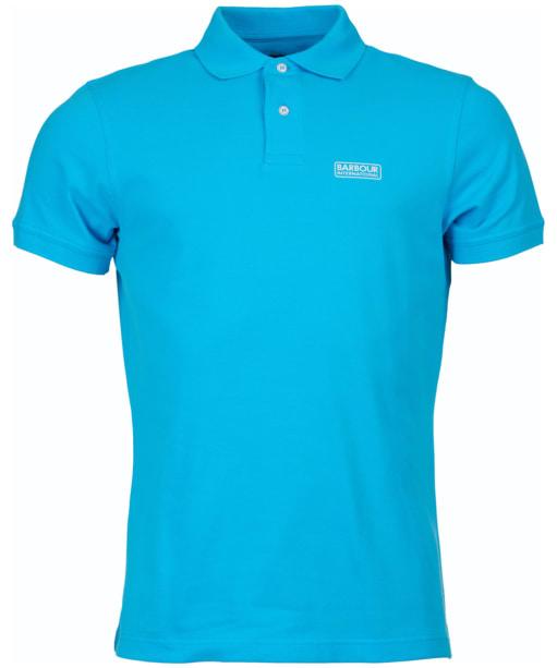 Men's Barbour International Essential Polo - Apex Blue