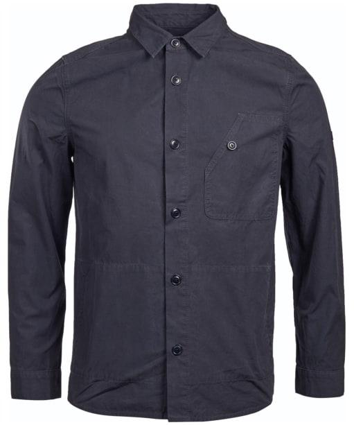 Men's Barbour International Camber Button Thru Overshirt - Navy