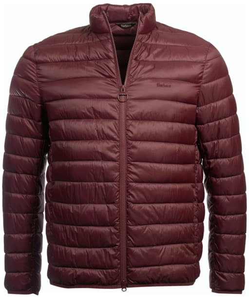 Men's Barbour Penton Quilted Jacket - Aubergine