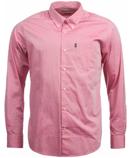 Men's Barbour Tailored Fit Shore Shirt - Red