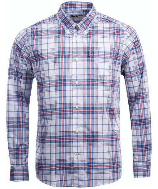 Men's Barbour Tailored Fit Christopher Shirt - Biking Red Check