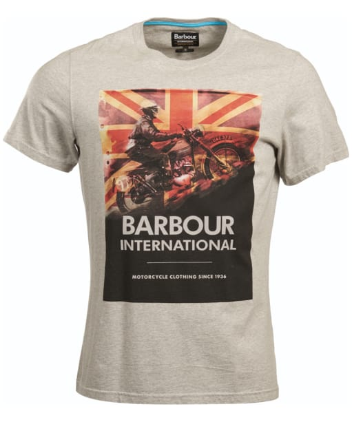 Men's Barbour International Climb Tee - Grey Marl