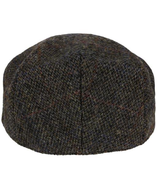 Heather Highland Harris Tweed Flat Cap - Grey