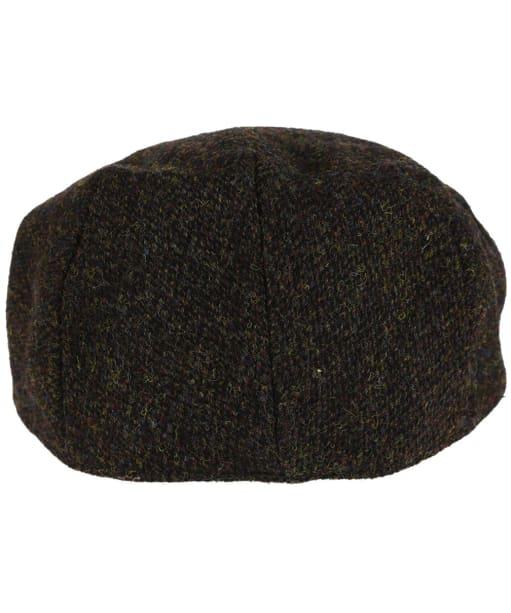 Heather Highland Harris Tweed Flat Cap - Brown Barleycorn