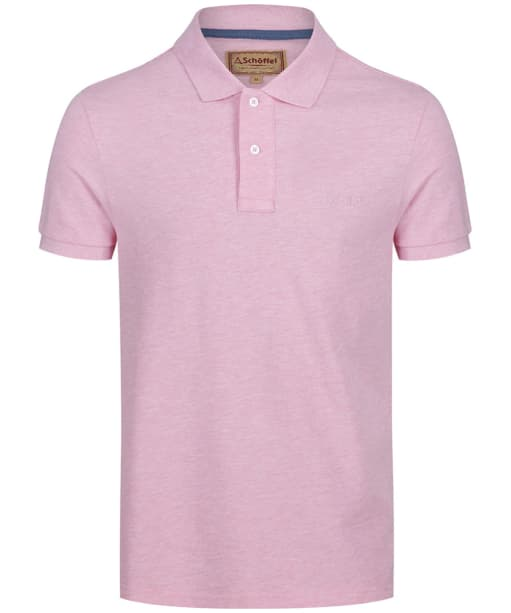 Men's Schoffel Padstow Polo Shirt - Pink