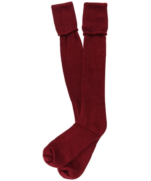 Pennine Gamekeeper Socks - Cherry