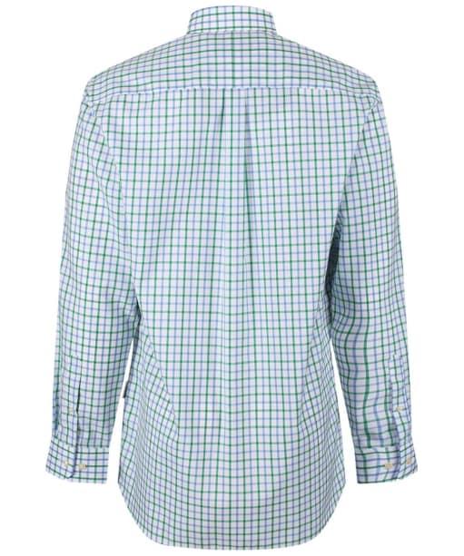 Men's Schoffel Holkham Shirt - Green Check