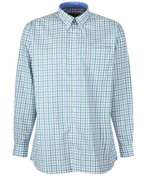 Men's Schoffel Holkham Shirt - Green Check
