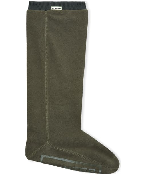Hunter Fitted Tall Boot Socks - Dark Olive